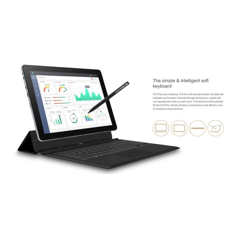 Tablet Chuwi Hi10 plus 10.8inch + Tặng kèm Dock bàn phím bao da và filipcover
