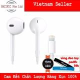 Giá Bán Tai Nghe Apple Iphone 7 7 Plus Hang Nhập Khẩu Tặng Vong Đeo Tay Silicone Pacific Có Thương Hiệu