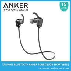 Chiết Khấu Tai Nghe Bluetooth Anker Soundbuds Sport A3233 Đen Hang Phan Phối Chinh Thức Anker