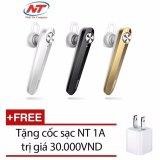 Giá Bán Tai Nghe Bluetooth Baseus A01 V4 1 Kết Nối 2 Điện Thoại Tặng Cốc Sạc Đen Baseus Tốt Nhất