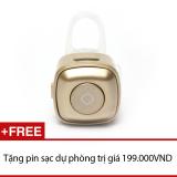 Tai Nghe Bluetooth Mini Nv V4 Đồng Tặng 1 Pin Sạc Dự Phong Nvpro Chiết Khấu 50