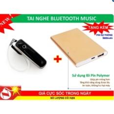 Tai nghe Bluetooth N700(đen)+ tặng sạc dự phòng 9800mah