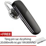 Giá Bán Tai Nghe Bluetooth Plantronics Explorer 500 Đen Hang Nhập Khẩu Tặng 1 Pin Sạc Dự Phong 20 000Mah Tốt Nhất