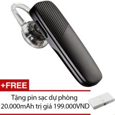 Giá Bán Tai Nghe Bluetooth Plantronics Explorer 500 Đen Hang Nhập Khẩu Tặng 1 Pin Sạc Dự Phong 20 000Mah Mới