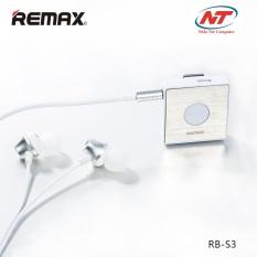Mua Tai Nghe Bluetooth Remax Rb S3 V4 1 Trắng Trực Tuyến