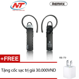 Ôn Tập Cửa Hàng Tai Nghe Bluetooth Remax Rb T9 Hd Voice V4 1 Đen Tặng 1 Cốc Sạc Trực Tuyến