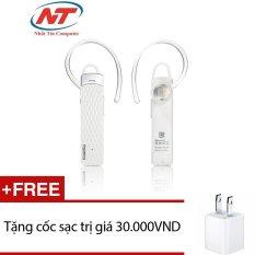 Bán Tai Nghe Bluetooth Remax Rb T9 Hd Voice V4 1 Trắng Tặng 1 Cốc Sạc Rẻ Trong Hồ Chí Minh