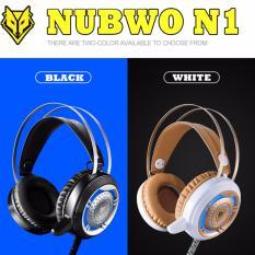 Chiết Khấu Sản Phẩm Tai Nghe Chơi Game Nubwo N1 Super Bass Gaming Headphone Tai Nghe Mau Trắng