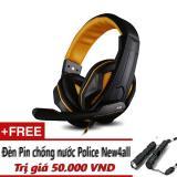 Mã Khuyến Mại Tai Nghe Chụp Đầu Ovann X2 Pro Gaming Headsets Ovann X2 Đen Cam Tặng Đen New4All Sieu Sang Chống Nước Rẻ