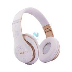 Tai Nghe Chụp Tai Bluetooth Nvpro 6Ss Trắng Phối Đồng Mới Nhất
