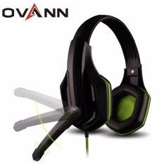 Bán Tai Nghe Chụp Tai Chuyen Game Ovann X1 Pro Gaming Bass Đen Phối Xanh Hang Nhập Khẩu Mới