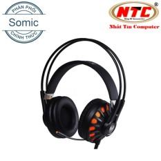 Giá Bán Tai Nghe Chụp Tai Chuyen Game Somic G932N 7 1 Model 2017 Đen Hang Phan Phối Chinh Thức Rẻ Nhất