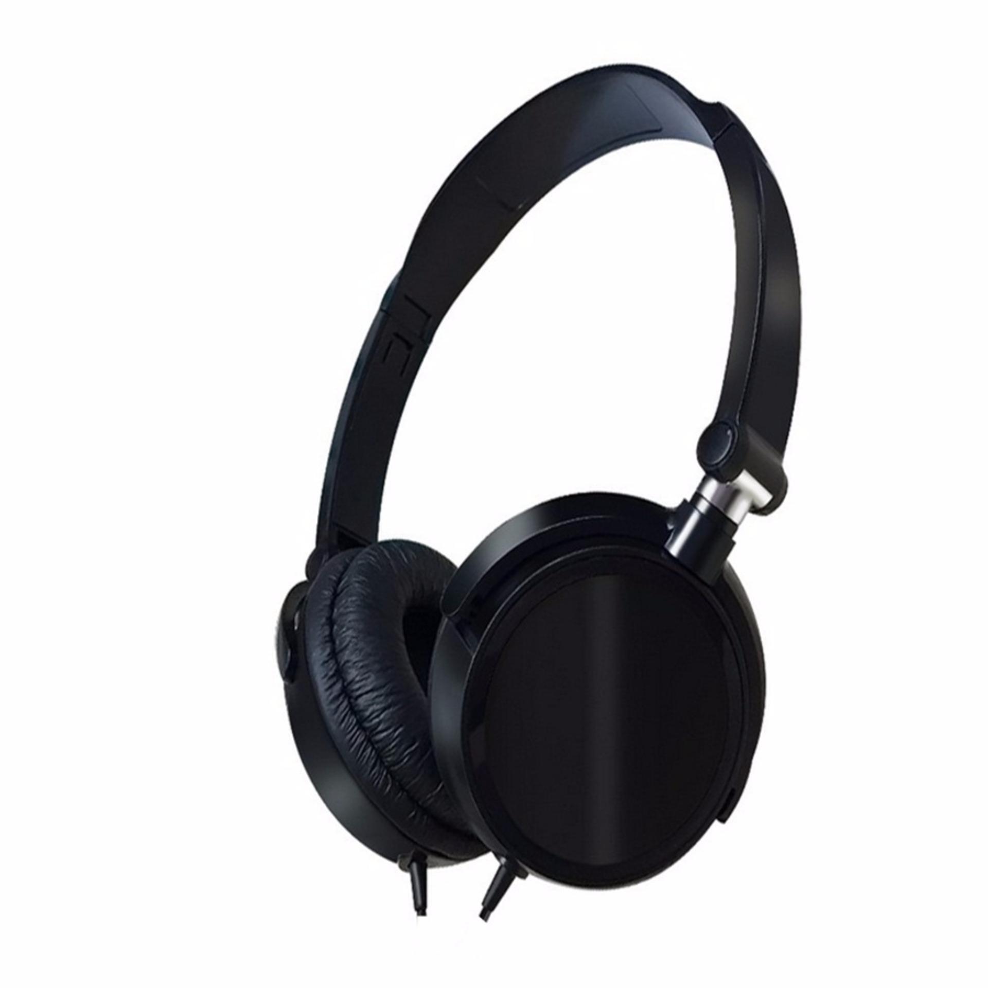 Tai nghe chụp tai F10 đen ( có thể gấp gọn)