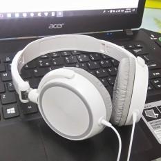 Hình ảnh Tai nghe chụp tai F10 trắng ( Có thể gấp gọn và điều chỉnh kích cỡ)