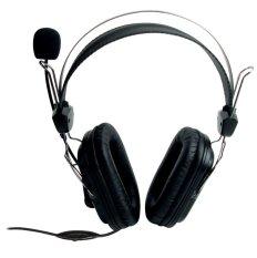 Bán Tai Nghe Chụp Tai Kem Mic Soundmax A 302 Đen Nhập Khẩu