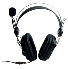 Giá Bán Tai Nghe Chụp Tai Kem Mic Soundmax Ah 302 Đen
