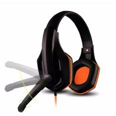 Tai nghe chụp tai Ovann X1 Pro Super Gaming (Đen Phối Cam) - Hàng công ty
