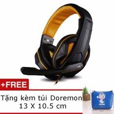 Ôn Tập Cửa Hàng Tai Nghe Chụp Tai Ovann X2 Pro Gaming Headsets Ovann X2 Đen Cam Tặng Vi Đựng Tai Nghe Doremon Trực Tuyến