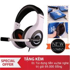 Chiết Khấu Tai Nghe Chụp Tai Ovann X4 Pro Gaming Headsets Ovann X4 Đen Trắng Tặng Vi Đựng Tai Nghe Doremon Có Thương Hiệu
