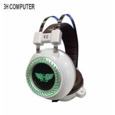 Tai nghe chuyên game NET LINK V2 (màu trắng ) âm thanh quá đỉnh