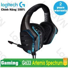 Ôn Tập Tốt Nhất Tai Nghe Game Chụp Tai Logitech G633 Rgb Led Artemis Fire Wired Surround Sound Đen Hang Phan Phối Chinh Thức