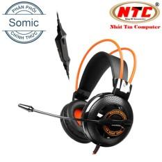 Tai Nghe Gaming Chụp Tai Kem Mic Somic G925 Cam Đen Hang Phan Phối Chinh Thức Hồ Chí Minh Chiết Khấu