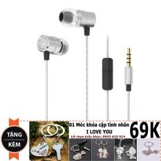Chiết Khấu Tai Nghe In Ear Ovann A100 Cho Iphone 6 6S Tặng Moc Khoa Thời Trang Ovann Hồ Chí Minh