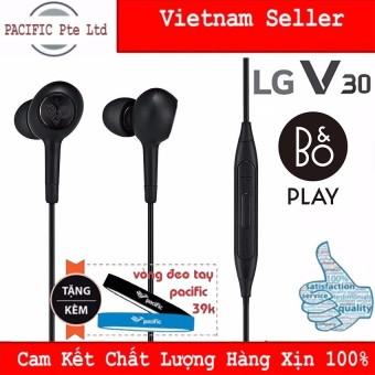 Tai Nghe LG V30 B&O Play 2018(Đen) - Tặng Vòng đeo tay Silicone Pacific