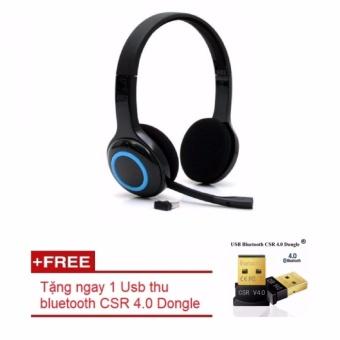 Tai nghe Logitech Wireless Headset H600 cao cấp + Tặng kèm 1