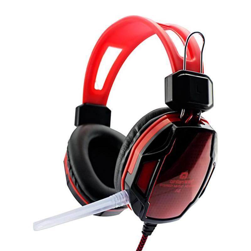 Tai nghe máy tính Qinlian A6 Đỏ