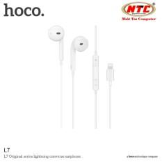 Cửa Hàng Tai Nghe Nhet Tai Hoco L7 Danh Cho Iphone 7 8 X Cổng Lightning Trắng Hang Phan Phối Chinh Thức Hoco Hồ Chí Minh
