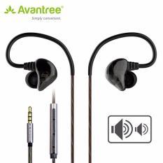 Bán Tai Nghe Nhet Trong Tai Kem Mic Co Nut Điều Khiển Am Lượng Cao Cấp In Ear Monitor Earphones D18 Chinh Hang Avantree A2762 Avantree