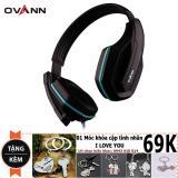 Giá Bán Tai Nghe Ovann X1S Pro Gaming Đen Xanh Tặng Moc Khoa I Love You 69K Rẻ