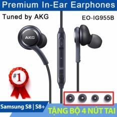Mua Tai Nghe Samsung Galaxy S8 S8 Plus Akg Zin Tặng 04 Nut Tai Đen Trực Tuyến Rẻ