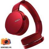 Giá Bán Tai Nghe Sony Mdr Xb950B1 Bluetooth Extra Bass Chinh Hang Đỏ Mới