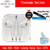 Ôn Tập Trên Tai Nghe Zin Dung Cho Iphone 5S 6 6 Plus 6S 6Splus Apple Earpods Tặng Vong Đeo Tay Silicone Pacific