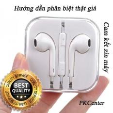 Giá Bán Tai Nghe Zin May Iphone 5 5S 6 6S 6 Plus 6S Plus Apple Earpods Hướng Dẫn Phan Biệt Thật Giả Nhãn Hiệu Apple