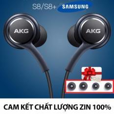 Bán Tai Nghe Zin May Samsung Galaxy S8 S8 Plus Akg Tặng 4 Num Tai Đen Rẻ