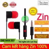 Bán Mua Trực Tuyến Tai Nghe Zin One Max 301 Cho Htc Hang Nhập Khẩu