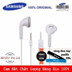 Hình ảnh TAI NGHE ZIN THEO MÁY SAMSUNG GALAXY EHS61 với Jack 3.5mm tích hợp Microphone hỗ trợ hầu hết các điện thoại thông minh - Tặng Vòng đeo tay Silicone Pacific