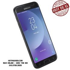 Tấm dán kính cường lực màn hình cho  Samsung Galaxy J7 Pro 2017 độ cứng 9H (Clear)