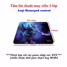 Hình ảnh Tấm lót chuột chơi game D3 size lớn - Loại Mousepad Control (hình game Dota ngẫu nhiên)
