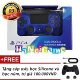 Chiết Khấu Tay Cầm Chơi Game Ps4 Slim Pro Dualshock 4 Xanh Playstation