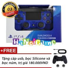 Giá Bán Tay Cầm Chơi Game Ps4 Slim Pro Dualshock 4 Xanh Nguyên Playstation