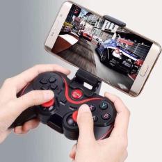 Hình ảnh Tay cầm chơi game kèm giá đỡ điện thoại (Ipad, Iphone, Smart box, SmartTV, PC)