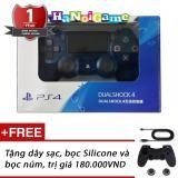 Bán Tay Cầm Chơi Game Ps4 Slim Pro Dualshock 4 Crystal Blue Hang Sony Việt Nam Có Thương Hiệu Rẻ