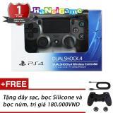 Mua Tay Cầm Chơi Game Ps4 Slim Pro Dualshock 4 Steel Black Hang Sony Việt Nam