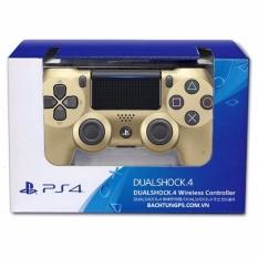 Giá Bán Tay Cầm Chơi Game Sony Dualshock4 Slim Gold Cuh Zct2 Sony Hà Nội