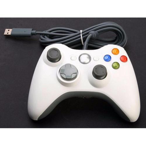 Tay cầm chơi game Xbox360 Controller Wired PC (Màu ngẫu nhiên)