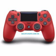Ôn Tập Trên Tay Cầm Ps4 Slim Đỏ Dualshock 4 Red Cuh Zct2